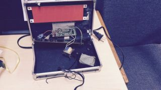 A homemade clock made by Ahmed Mohamed, 14, is seen in an undated picture released by the Irving Texas Police Department September 16, 2015.