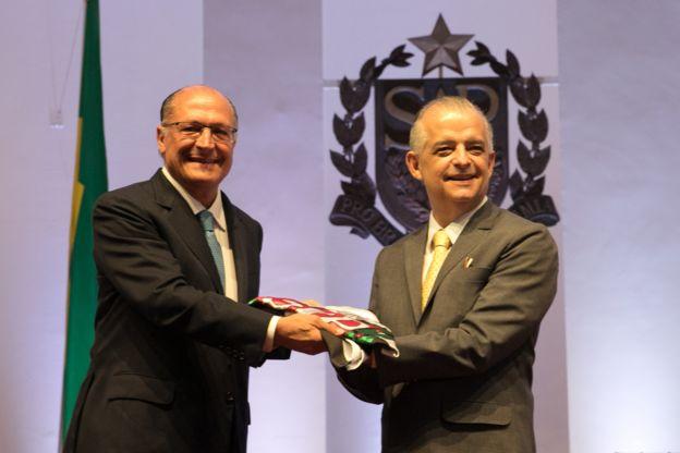Geraldo Alckmin e Márcio França