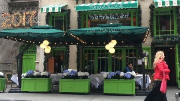 "مطعم ""تراتوريا ديلآرت"""