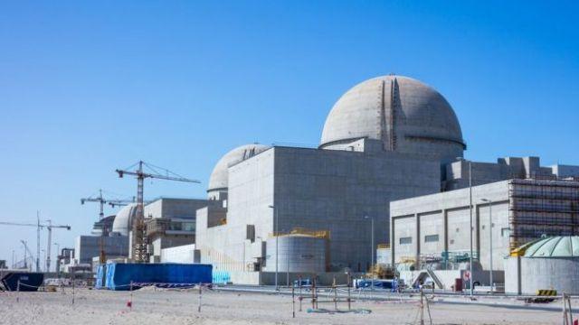 Planta nuclear de Barakah, en Emiratos Árabes Unidos.