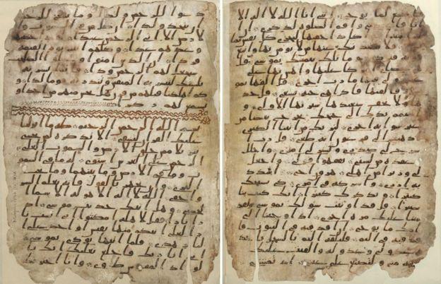 Koran fragments