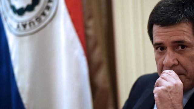 Horacio Cartes, presidente de Paraguay.
