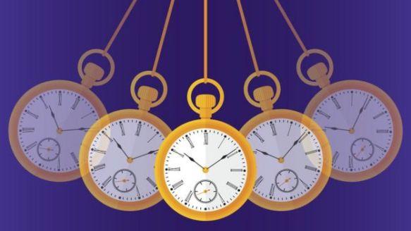 Ilustração de relógios