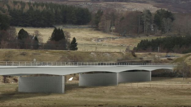 Option three for River Spey crossing