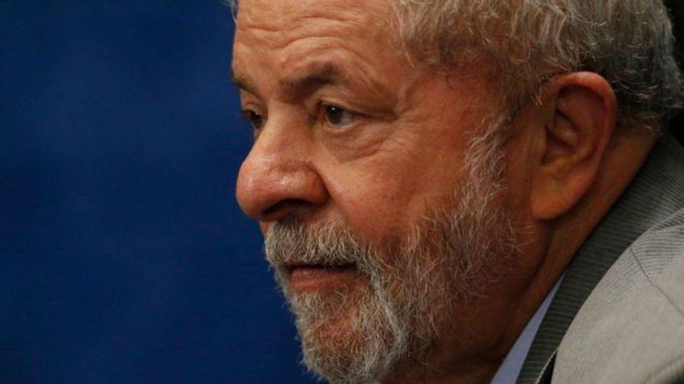 Luiz Inázio lula da Silva, expresidente de Brasil.