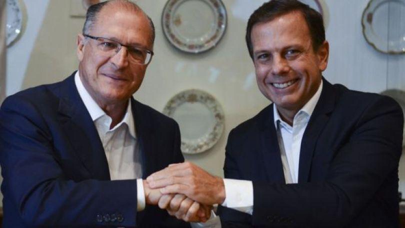 Alckmin e Doria