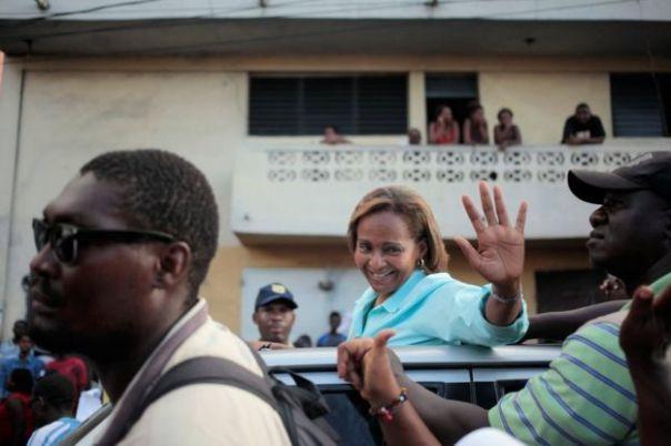 Maryse Narcisse en Puerto Príncipe