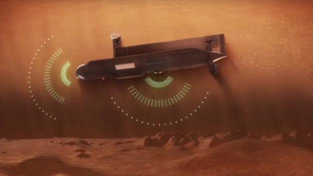 Diseño de submarino para Titán