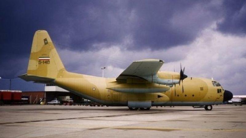 یک هواپیمای هرکولس سی ۱۳۰ ارتش ایران