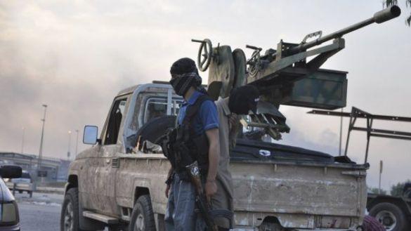 Musul'daki IŞİD militanları (2014).