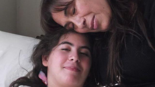 A mãe e Paula