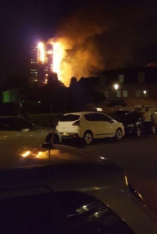 Incendio en la Torre Grenfell.