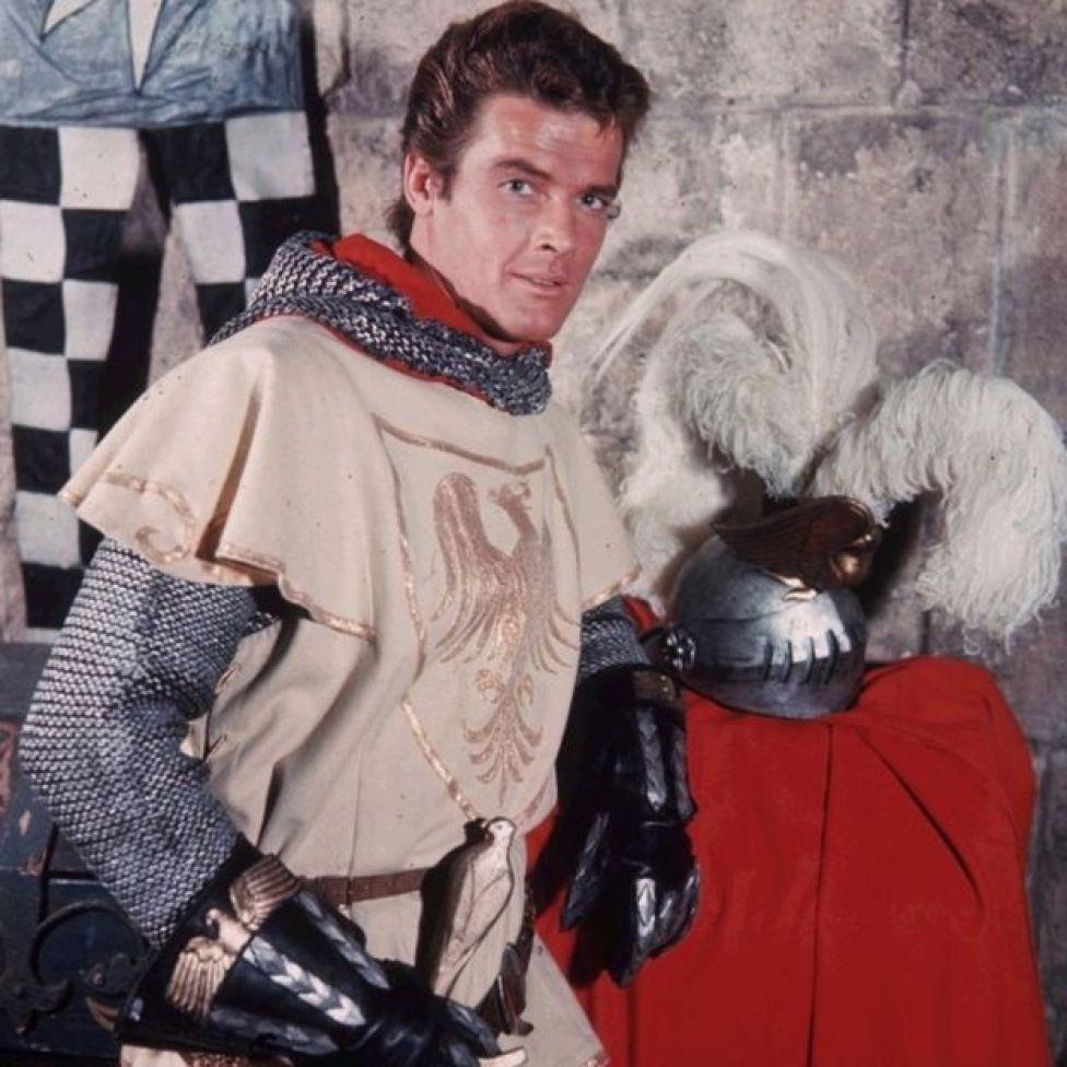 Roger Moore as Ivanhoe