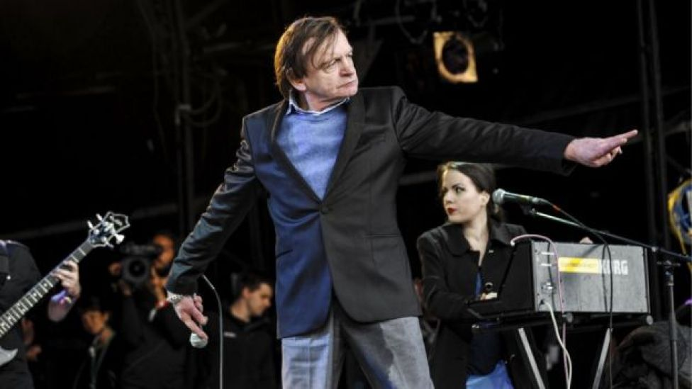 Mark E Smith and The Fall in 2015