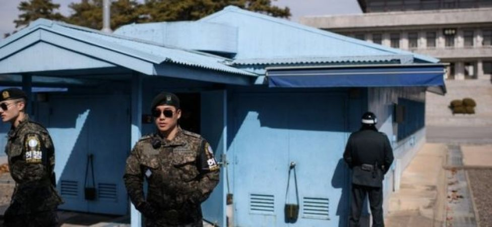 Soldiers at the DMZ (file image)