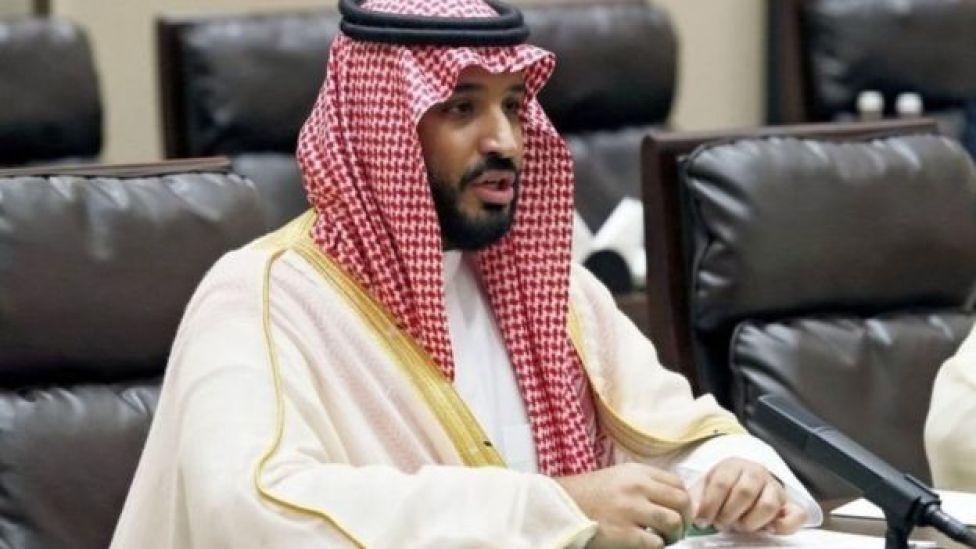सऊदी क्राउन प्रिंस मोहम्मद बिन सलमान