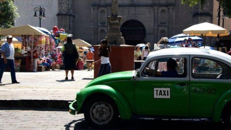 سيارة أجرة تقليدية