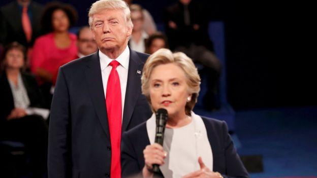 Trump và Clinton