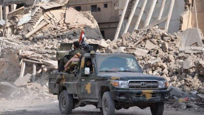 القوات الحكومية السورية في دير الزور