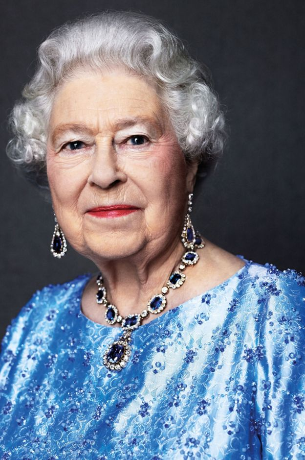 Portrait of the Queen by David Bailey