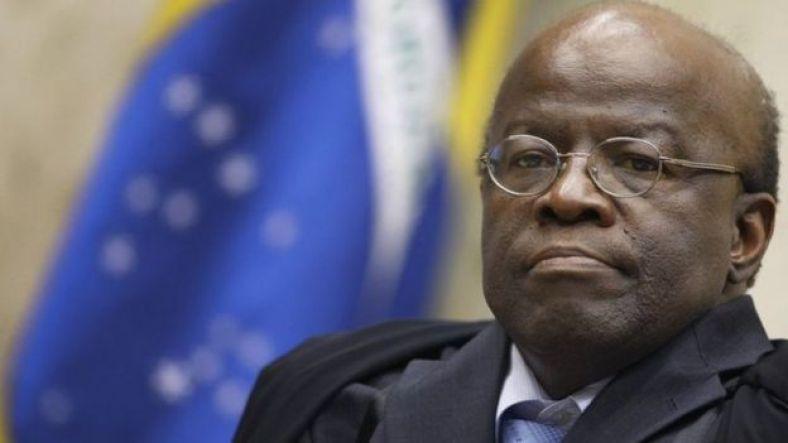 O ex-ministro do TSE Joaquim Barbosa