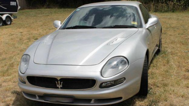 Moore's Maserati