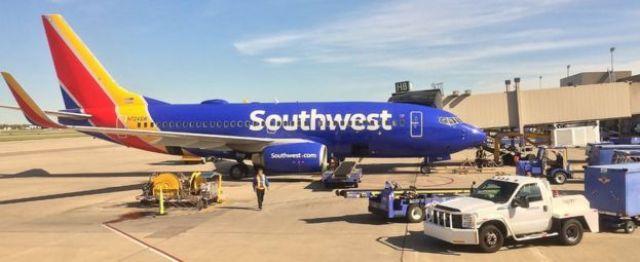 Un avión de Southwest Airlines