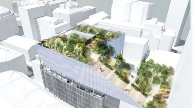 Artist's impression of the proposed Manchester St Michael's development