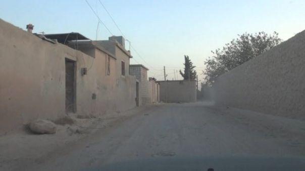 Una villa polvorienta y despoblada en el norte de Siria.
