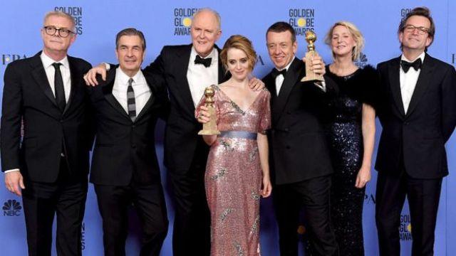 Actores de The Crown.