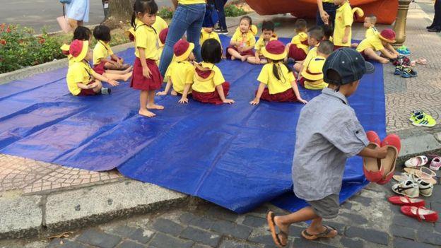 Bé Nguyễn Danh Thành Đạt, 4 tuổi rưỡi