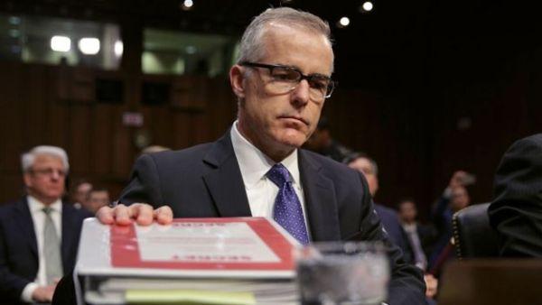 Acting FBI director Andrew McCabe