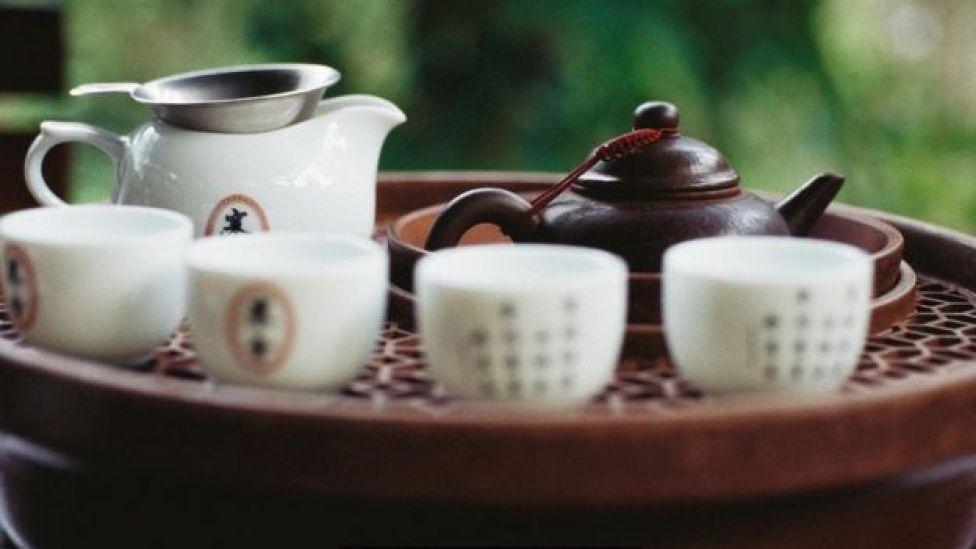 أدوات الشاي التقليدية