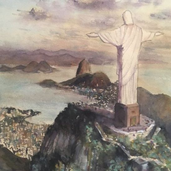 pintura de Ronaldo Serafim