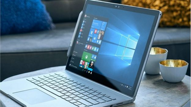computadora con windows 10