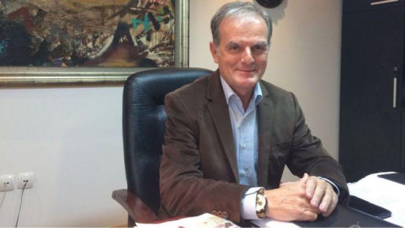 O prefeito de Veles Slavco Chediev