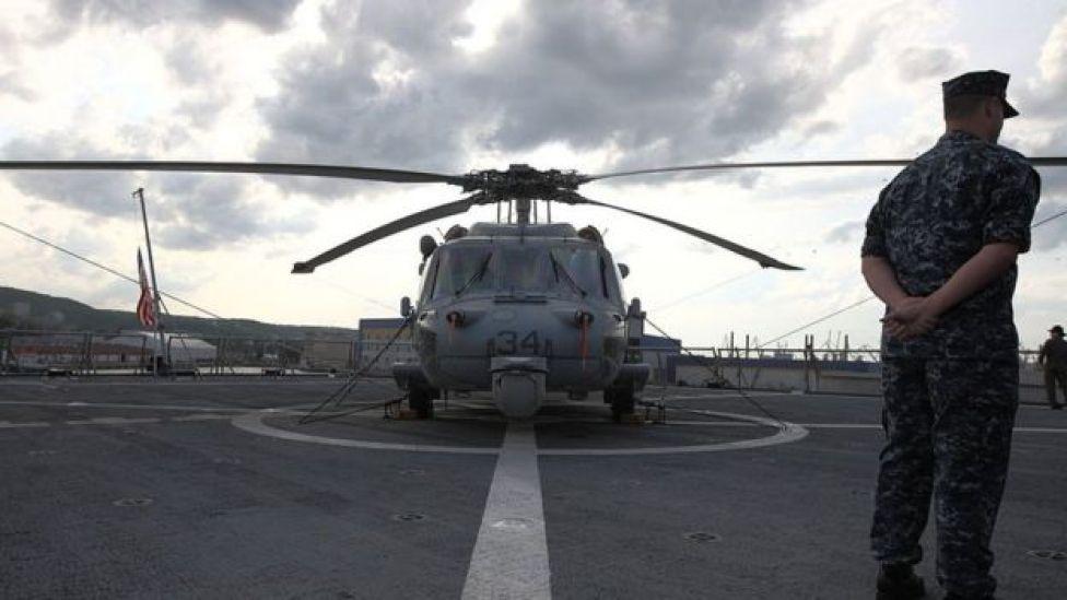 Soldado de EE.UU. en una maniobra de la OTAN