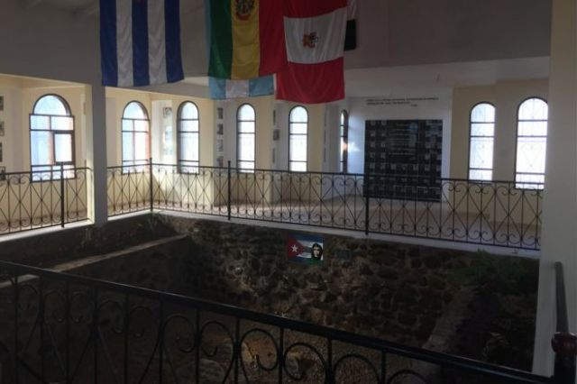Lugar onde Che foi encontrado em Vallegrande (Foto: Luis Velasco/BBC Mundo)