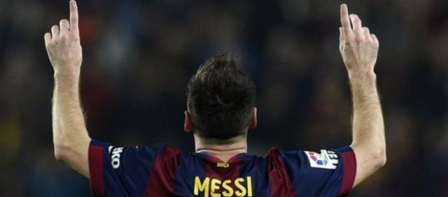 Lionel Messi. File photo