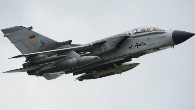 German Tornado jet (file pic)