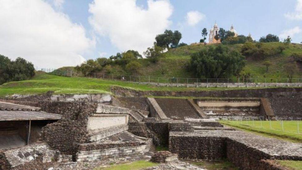 La pirámide de Cholula
