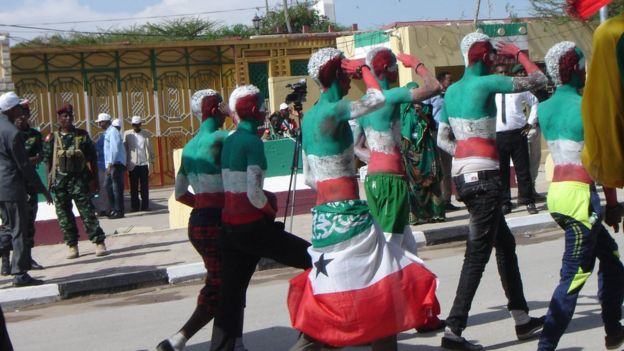 Independence day celebrations in Hargeisa