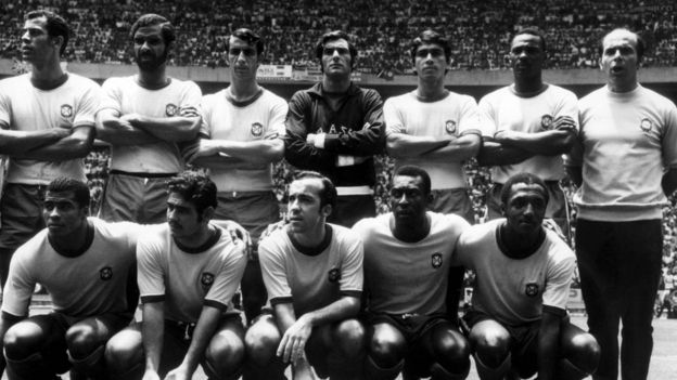 Time titular da seleção brasileira de 1970