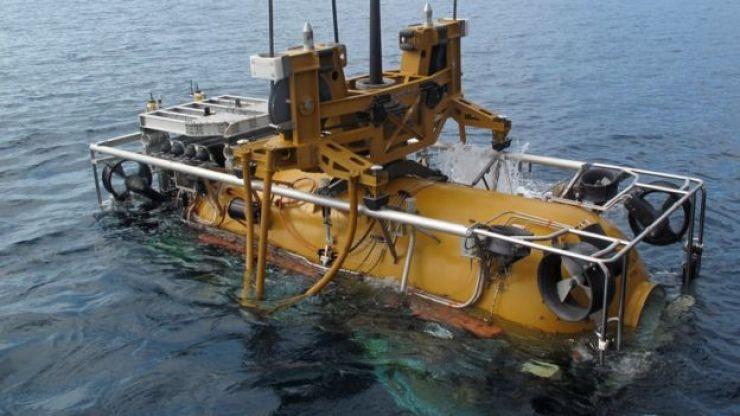Nave de rescate submarino. (Foto: Daniel Moreno/Comando Sur de EE.UU.)