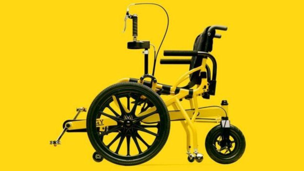 La silla de ruedas Cogy de Tess Co