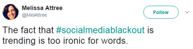 A tweet reads: