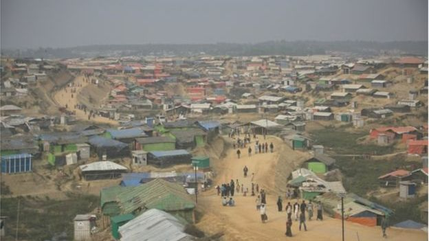 More than seven lakh Rohingya are taking shelter in Rohingya refugee camps of Bangladesh. Photo: BBC