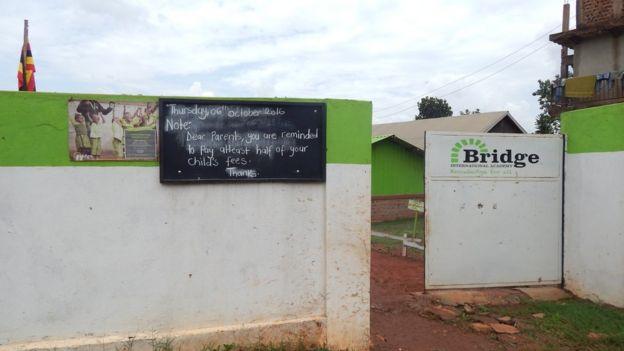 A notice board