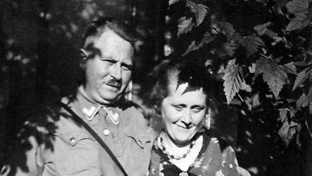 Karl y Minna Niemann 1933