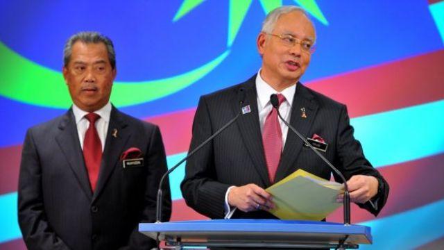 Malaysia's Najib Razak announces his cabinet line-up